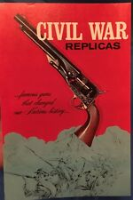 Civil War Replicas Catalog By Replica Arms - Rare & Unmarked! Pristine Condition