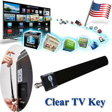 Clear TV Key Free Digital HDTV Indoor Antenna Ditch Cable As Seen on TV HD