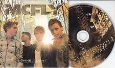 MCFLY ft TAIO CRUZ Shine A Light 2010 UK 2-track promo CD