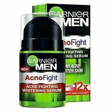 40ml Garnier Men Acno Fight Whitening Serum Cream Formula Acne Facial Radiant