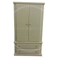 HAND MADE DEWSBURY FURNITURE IVORY CREAM WARDROBE(ASSEMBLED)