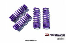 "ZX Purple Lowering Springs 2.0"" F / 2.0"" R For 2001-2005 Honda Civic - ZX01CVC"