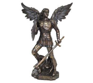 Archangel Saint Michael Statue figurine 23cm (H)