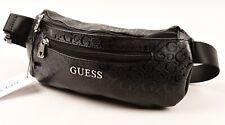 GUESS Black JUNCTION TRAVEL Bum Bag, Unisex
