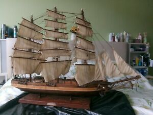 CUTTY SARK clipper sailing ship model 84cm long - no kit