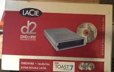 LACIE D2 DVD+-RW Double Layer With Lightscribe