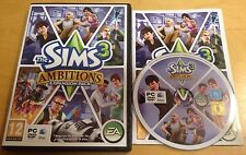 THE SIMS 3 AMBITIONS EXPANSION PACK for PC COMPLETE