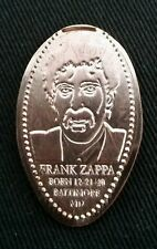 Frank Zappa Baltimore Souvenir Pressed Penny Elongated Smashed All Copper
