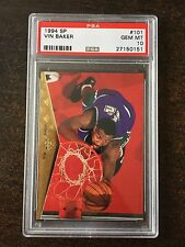 1994 SP #101 VIN BAKER  *PSA GRADED GEM MINT 10 *BUCKS** *KGBB-0151