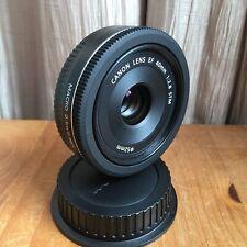 Canon EF 40mm F/2.8 STM EF Pancake Lens - Black