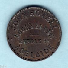 Australia Token.  Howell 1d..   Adelaide S.A.  gVF