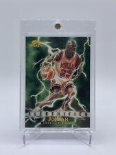 Michael Jordan 1995-96 Skybox Premium Electrified #278 SP Chicago Bulls 🔥📈