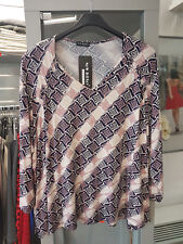 New Jersey Shirt 7/8 Arm Übergrösse XL (Gr. 44)  Z19