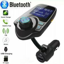 Wireless Bluetooth Kit FM Transmitter Car Radio Adapter MP3 Player USB Charger