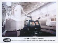 LAND Rover verniciatura 21 originale a colori fotografia sulla linea di produzione