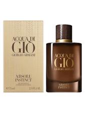 Acqua Di Gio Absolu Instinct By Giorgio Armani Men's Eau De Parfum 75ml New 2019