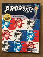 New York State Progress Coach, Mathematics, Grade 8 (2008, Paperback) Math