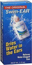 Swim Ear Swimmers Ear Solution for Water in the Ears 1oz