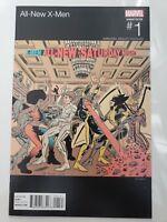 ALL-NEW X-MEN #1 (2016) MARVEL COMICS ED PISKOR HIP-HOP VARIANT COVER ART!