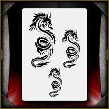 """Dragon 1"" Airbrush Stencil Template Airsick"