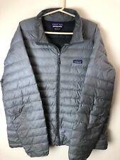 Patagonia Down Jacket Mens Size XXL 2XLarge Winter Coat Gret Full Zip