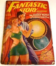 Fantastic Story Quarterly – US Pulp – Spring 1950– Vol.1 No.1 - Fearn, Hamilton