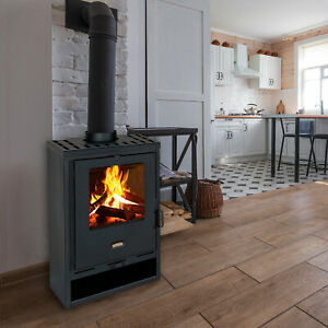 EEK A-stove with large combustion chamber Prity K1 D 9 KW