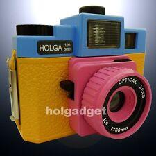 Holga 120 GCFN 120GCFN Medium Format Film Camera Glass Lens Flash Lomo CMY B