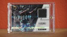 2012 Panini Black Box Justin Blackmon Autographed Jersey Card 1/1