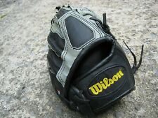 Grey/Black Wilson Barry Bonds A300 Junior Baseball Mitt Glove