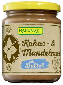 (2,80 EUR/100 g) Rapunzel Kokos- & Mandelmus mit Dattel bio 250 g