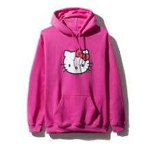 ASSC X Hello Kitty Hoodie Hot Pink Size Small Brand New Anti Social Social Club