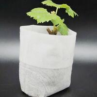 100PCS Hot Nursery Pots Seed-Raising Bags Non-woven Fabrics Garden Supply 8x10cm