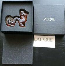 Lalique Dragon Figure Amber , Motif Dragon Ambre 1214100 BNIB , Great Gift Idea