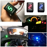 New ABS Plastic 1-6 Speed Motorcycle Gear Indicator For Suzuki LED Display