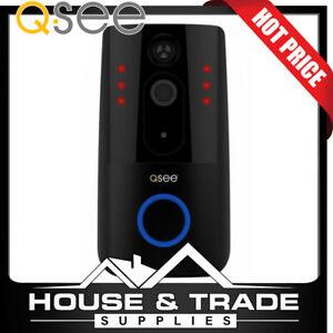 Q-SEE Doorbell Security Camera 720P Resolution WiFi 2 Way Talk QDB03