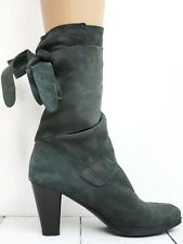 DONNA CAROLINA ☀ Stiefel Gr. 40 Damen Veloursleder Chaussures Scarpe Schuhe