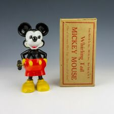 Vintage Louis Marx - Whirling Tail Disney Mickey Mouse Clockwork Toy - Boxed!