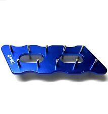 60302B Aluminium Alloy 3mm Pinion Stocker Rack Blue CPV 136mm 45mm