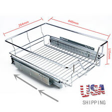 Kitchen Pull Out Fr 400 Pantry Drawer Basket Wire Storage Shelf Rack Cabinet