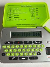 Franklin Learner Lrl 230 Audio Speaking Spelling Bee Game Word Vocabulary