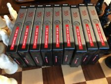 BASF 353 CR II - Studio Chrome Position Audio Cassette Tapes LOT OF 9