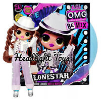 "1 LOL Surprise REMIX LONESTAR 10"" OMG Fashion Doll Music Record Line Dancer NEW"