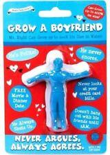 Grow A Your Own Boyfriend Secret Santa Stocking Filler Idea Joke Gift in Blue UK