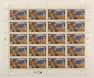 Mint OG USPS Stamp Sheet 1996 Legendary Coaches Vince Lombardi .32 Scott 3147 B2