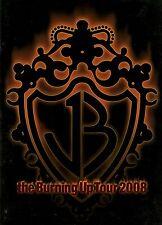 JONAS BROTHERS 2008 THE BURNING UP TOUR CONCERT PROGRAM BOOK / NM 2 MINT