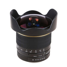Super Wide 8mm f/3.5 Fisheye Lens for Canon 5D Mark III II 70D 6D 60D 700D 7D