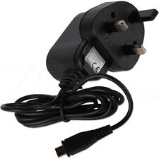 "UK Mains Micro USB Wall Plug Charger for The Acer Iconia One 7"" Tablet B1-770"