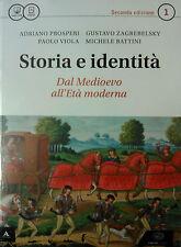 STORIA E IDENTITA' 1+ Atlante  N. Edizione  EINAUDI SCUOLA  9788828617211