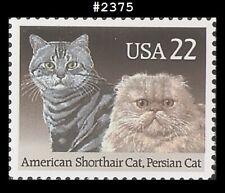 Usa5 #2375 Mnh Cats American Short Hair Persian